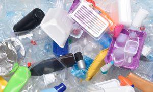 Blandet plast