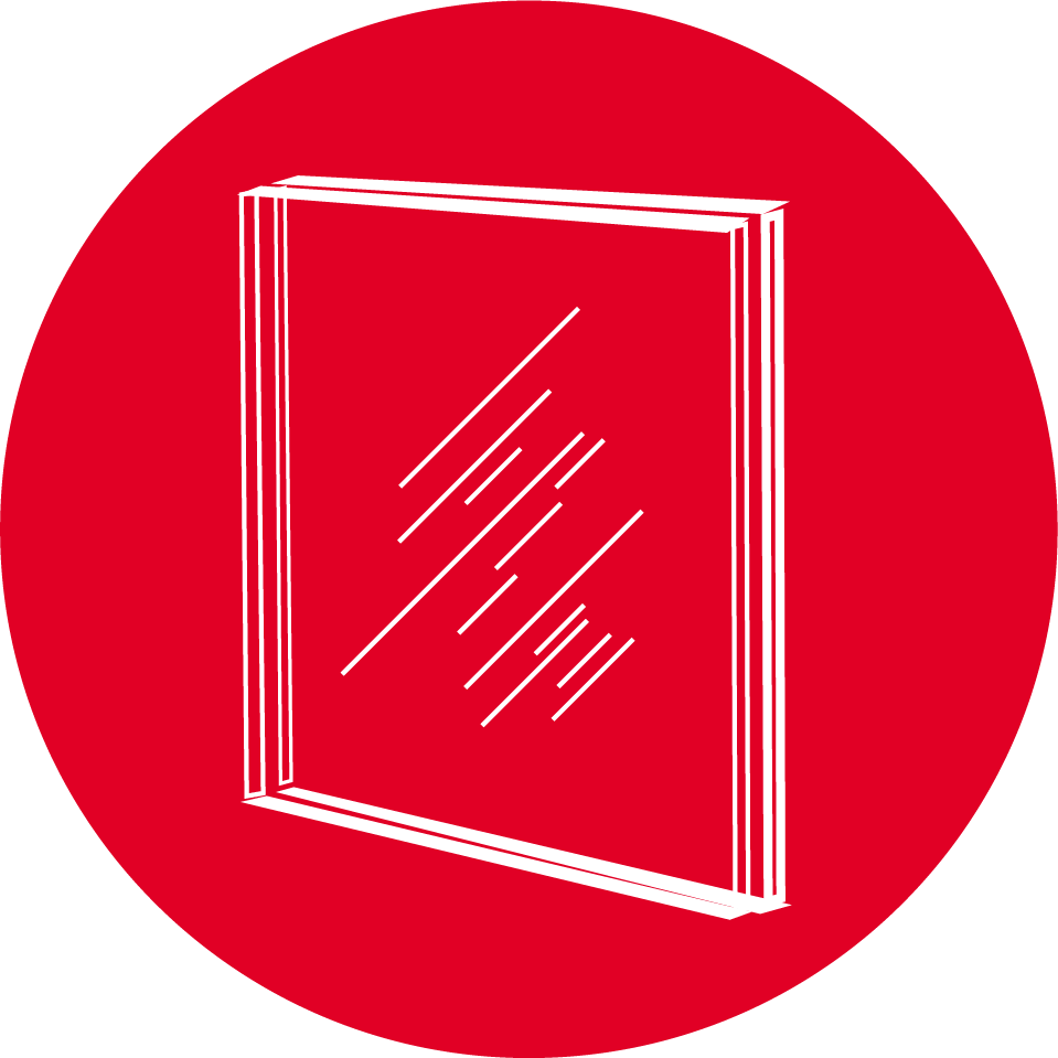 PCB-holdige vindusruter