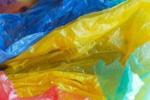 Farget plastfolie LDPE