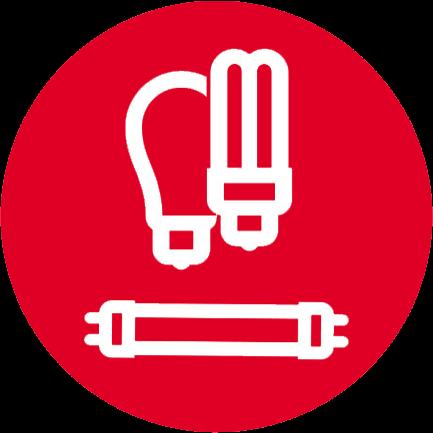Lysstoffrør og sparepærer