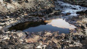 Oljeforurenset masse