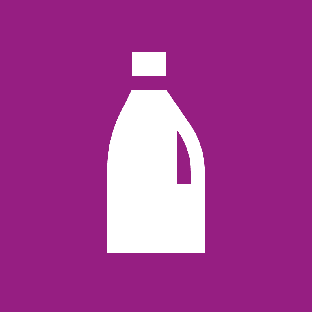 Flasker, kanner og brett